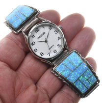 Sparkling Blue Opal Watch 24475