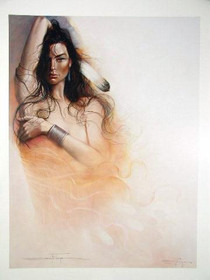 Native American Woman Art Print 35723