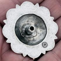 Silver Gold Concho 24308