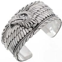 Sterling Silver Eagle Cuff 22446