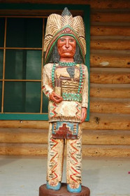 Chief Cigar Store Indian 33956