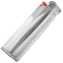 Southwest Bic Silver Lighter Case 24591