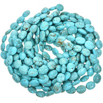 Turquoise Magnesite Beads 16mm x 19mm 16 inch Strand 5127