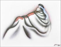 American Indian Sitting Alone Art Print 39173