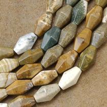 Jasper Beads by the Strand