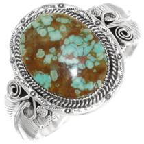 Navajo Turquoise Silver Bracelet 25162