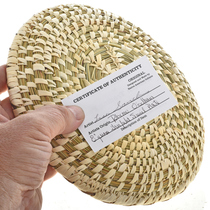 Split Stitch Papago Basket 22997