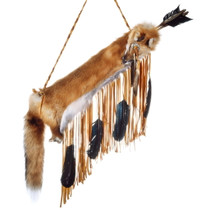 Native American Red Fox Quiver 24931