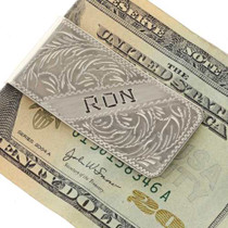 Western Styled Money Clip 24761