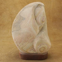 Original Large Hand Carved Genuine Sandstone Sculpture