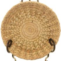 Tohono O'odham Swirl Split Stitch Basket 25772