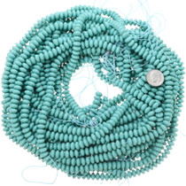 Blue Green Turquoise Strands 25489