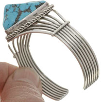 Vintage Navajo Turquoise Nugget Bracelet 26893