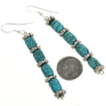 Native American French Hooks Earrings 21927