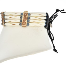 Traditional Hairpipe Bone Choker 24066