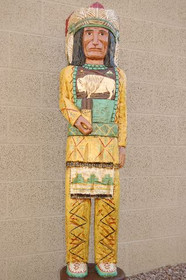 Cigar Store Wooden Indian Chief 34000