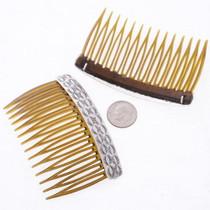 Silver Hair Combs 22455