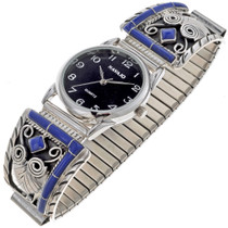 Inlaid Lapis Watch 24454