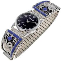 Inlaid Lapis Watch 24454