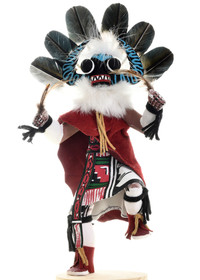 Black Ogre Kachina Doll 22043