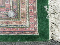 Hand Knotted Rug 25129