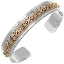 Sterling Silver Gold Jewelry 22812