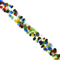 Four Strand Seed Bead Indian Necklace 15021