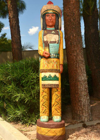 White Buffalo Cigar Store Indian 22426