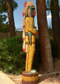 6 Foot Cigar Store Indian 22426