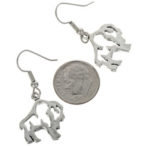 Dangling Buffalo Earrings 23639