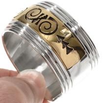 Handmade Hopi Symbol Bracelet 10780