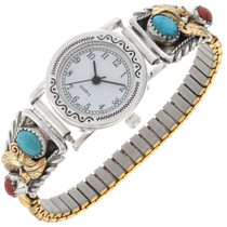 Turquoise Coral Ladies Watch 25168