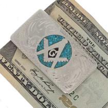 Masonic Silver Money Clip 23020