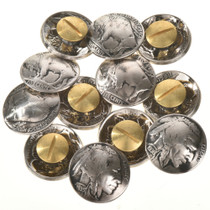 Real US Coin Button Craft Supplies 22811