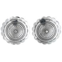 Navajo Concho Post Earrings 20775