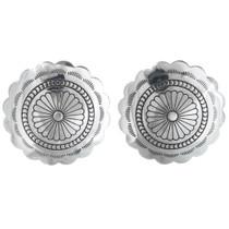 Navajo Concho Post Earrings 20775
