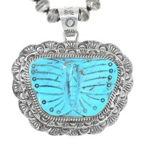 Navajo Butterfly Pendant 25454