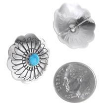 Silver Concho Earrings 23448