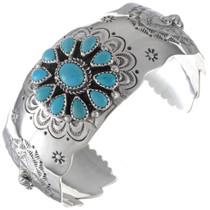 Turquoise Cluster Ladies Bracelet 19816