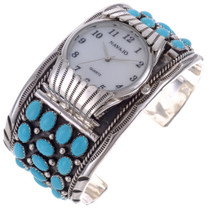 Traditional Turquoise Cluster Watch 24510