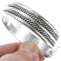 Navajo Silver Cuff Bracelet 12720