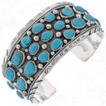 Native American Silver Cuff 17238