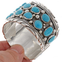 Sleeping Beauty Turquoise Cluster Cuff 17238