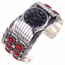 Coral Cluster Watch Bracelet 24478