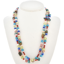 Native American Treasure Necklace 19499