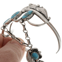 Turquoise Attached Princess Bracelet 21226