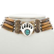 Bear Paw Bone Choker 15246