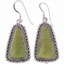 Gaspeite Dangle Earrings 24648