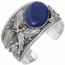Big Boy Lapis Cuff Bracelet 17362