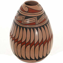 Polychrome Seed Pottery 26655